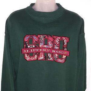 🔥VTG 90's Slippery Rock University Sweatshirt🔥